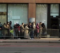 Caritas International wijst op de onmenselijke gevolgen van het beperken van de registratie van asielaanvragen en vraagt de opheffing van de limiet © Caritas International België