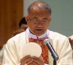 Mgr. Wenceslao Selga Padilla van Ulaanbaatar, de bisschop van de jongste katholieke gemeenschap ter wereld, is overleden ©  Paul Van Wouwe