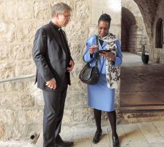 de Afrikaanse theologe Isabel Apawo Phiri © Wereldraad