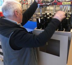 Voorlopig wordt de kartonnen krat met de 24 flesjes in beperkte hoeveelheid én uitsluitend aan adressen in eigen land geleverd © Sint-Sixtusabdij Westvleteren