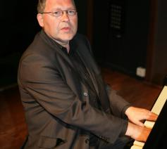 Paul Steegmans aan de piano. © Paul Steegmans