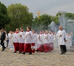 Misdienaars op Hemelvaartsdag © katholikentag.de/Nadine Malzkorn