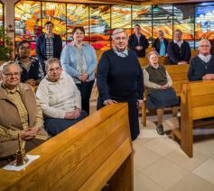 De zusters salvatorianessen van Hasselt hebben als zending 'heil te brengen aan de wereld'. Ze zetten zich in voor armen, jongeren en ouderen. © Rudi Van Beek