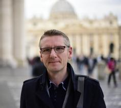 Emmanuel Van Lierde, hoofdredacteur Tertio © Koen Vlaeminck