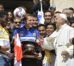 Clericuscup in Rome. © Stampa del Centro Sportivo Italiano
