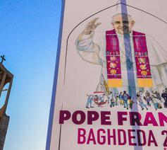 Bagdad maakt zich klaar voor de komst van de paus © Patriarchaat van Bagdad/Saint-adday.com