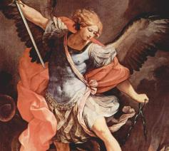 Guido Reni, Aartsengel Michaël, ca. 1636 © The Yorck Project (2002), Wikimedia