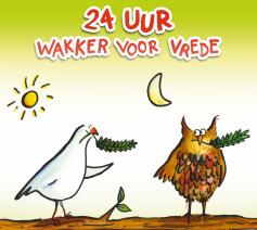 24u wakker voor vrede © Jan Demuynck
