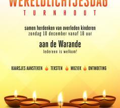 affiche Wereldlichtjesdag Turnhout © Pastorale dienst AZ Turnhout