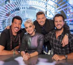 De jury van American Idol, met Katy Perry en Lionel Richie © ABC/American Idol