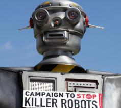 'De tijd is rijp voor een internationaal verbod op killer robots' © Amnesty Internationaal