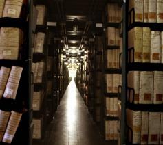 Het 'geheime' archief van het Vaticaan © Kipa/Apic