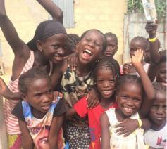 Kinderen in Senegal © (c)Dorien Fostier