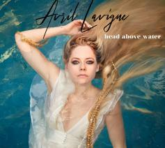 Cover single 'Head Above Water', een aanbiddingslied van Avril Lavigne. © Avril Lavigne