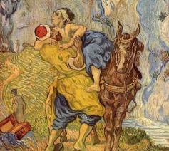 De barmhartige Samaritaan © Vincent Van Gogh