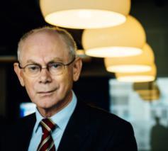 Gewezen voorzitter van de Europese Raad Herman Van Rompuy © Bart Dewaele