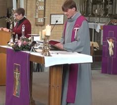 Eucharistie op YouTube vanuit de Sint-Lambertuskerk van Beersel