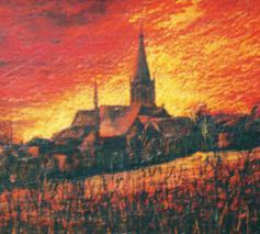 Beersel in zomergloed © gemeente Beersel