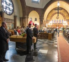 Begrafenis van 'zwerver' Louis © Joris Herregods