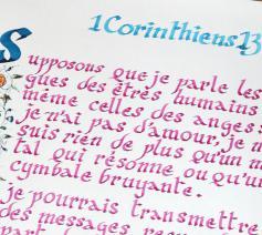Een manuscript van de Franstalige coronabijbel © Kipa-Apic