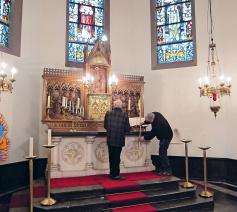 Inventarisatie Sint-Adrianus te Ravels - Eel  © Luc Andries