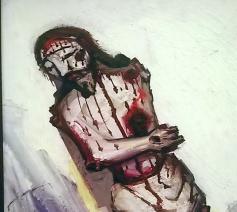 Bloedende Christus © Lea Verstricht