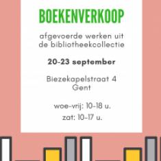 Boekenverkoop © bisdom Gent