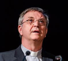 Bisschop Johan Bonny, voorzitter van de Erkende Instantie Rooms-katholieke Godsdienst
