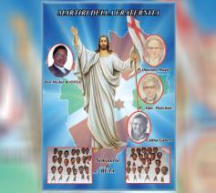 De 44 martelaren van Burundi © Vatican Media