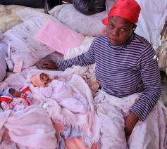 De Stichting Onze Kleine Weeskinderen probeert de armste kinderen een toekomst geven 10 jaar na de verwoestende aardbeving in Haïti © NPH