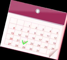 Pastorale kalender parochie in Deinze