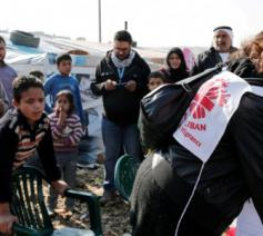 Vluchtelingenkamp in Libanon © Caritas Libanon