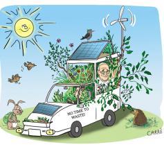 Cartoon: Carré