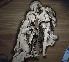 H. Catharina van Siena. Kerklerares, patrones van Europa en Italië, van wasvrouwen en stervenden.  © Wikimedia Commons