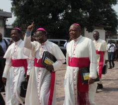 De Congolese bisschoppen in Kinshasa © Cenco/Fides