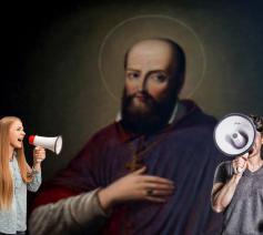 Deugdzaam debatteren? Dan kunnen we nog wat leren van de heilige Franciscus van Sales. © Elements Envato