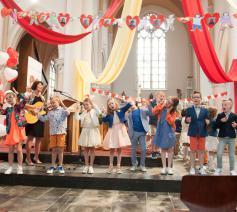 Eerste communie in Retie Sint-Martinus © Inge Huybrechts