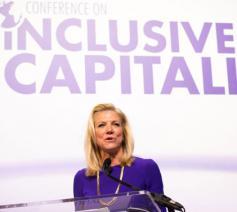Deze maand heeft een nieuwe conferentie plaats © Council for Inclusive Capitalism
