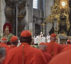 Consistorie met paus Franciscus © Vatican Media