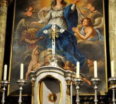 De gerestaureerde kerk te Parike © (c)Marcel De Bolle
