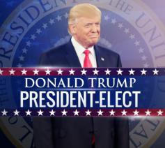 Verkozen president VS  © rr
