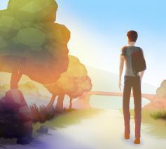 Schermafbeelding videogame 'Drowning'. © Nintendo