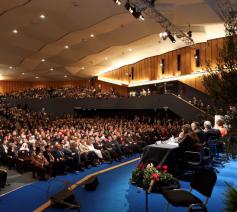 De opening van de interreligieuze bijeenkomst in Bologna © Sant'Egidio
