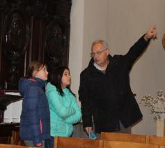 op ontdekkingstocht in onze kerk