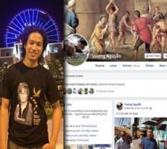 Nguyen Quoc Duc Vuong en zijn Facebook-pagina © Facebook