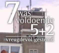 7 was voldoende: 5+2 © ccv