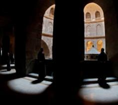 Franciscanen in de Heilig Grafkerk in Jeruzalem © Vatican Media