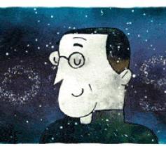 George Lemaître, illustratie van Google. © Google