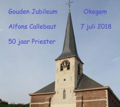 Gouden priesterjubileum pastoor Callebaut