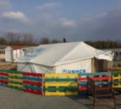 Een asielopvangcentrum in Griekenland © Tetty Rooze/Orbit